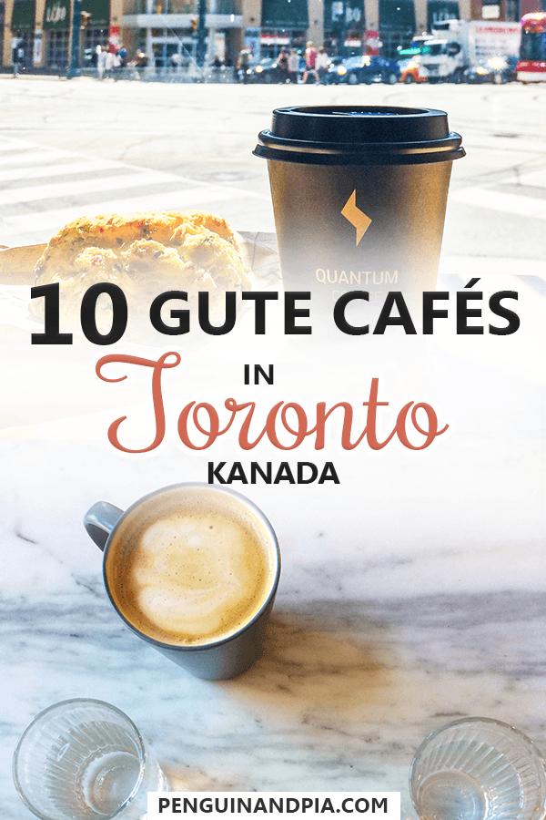 Gute Cafes in Toronto, Kanada