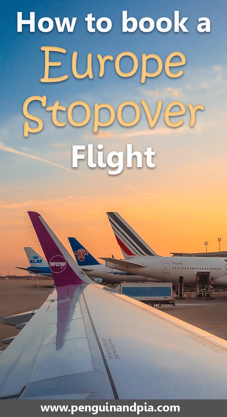 Tips for booking a Europe Stopover flight