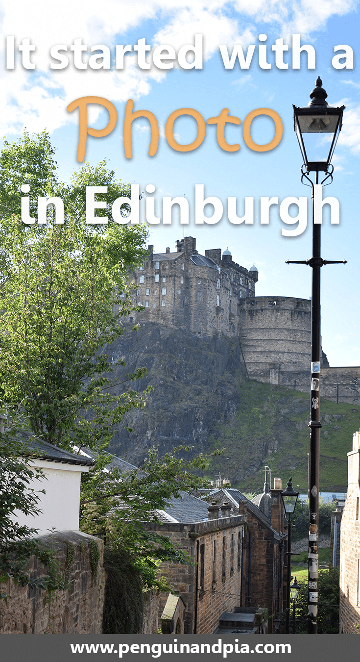 It started with a photo in Edinbburgh, Scotland