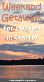 Weekend Getaways for couples in Ontario, Canada