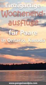 Einzigartige Wochenendausflüge für Paare in Ontario, Kanda