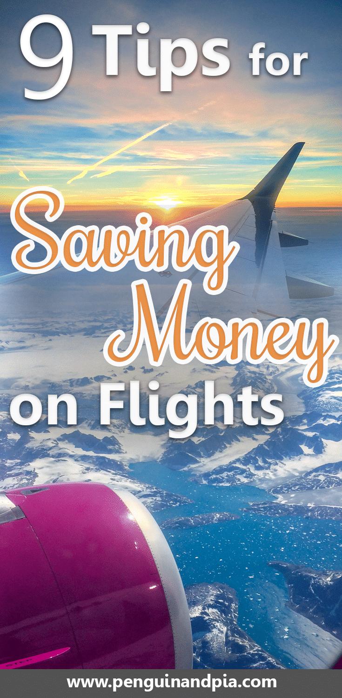 9 Tips for Saving Money on Flights