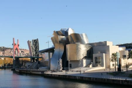 the guggenheim museum in bilbao spain