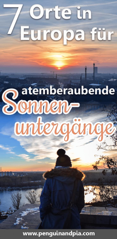 7 Orte in Europa für atemberaubende Sonnenuntergänge