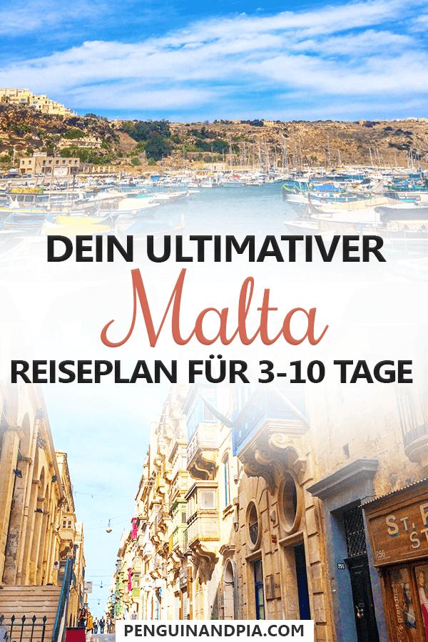3-10 Tage auf Malta dein ultimativer Reiseplan