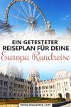 Europa Rundreise Reiseplan