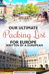Our ultimate Europe packing list