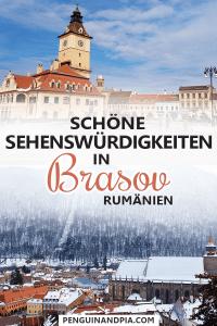 Sehenswürdigkeiten in Brasov Rumänien