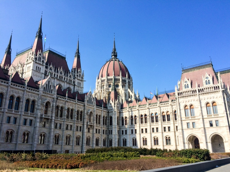 hungarian parliament europe trip itinerary