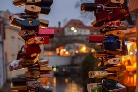 love locks in prague cute couple captions
