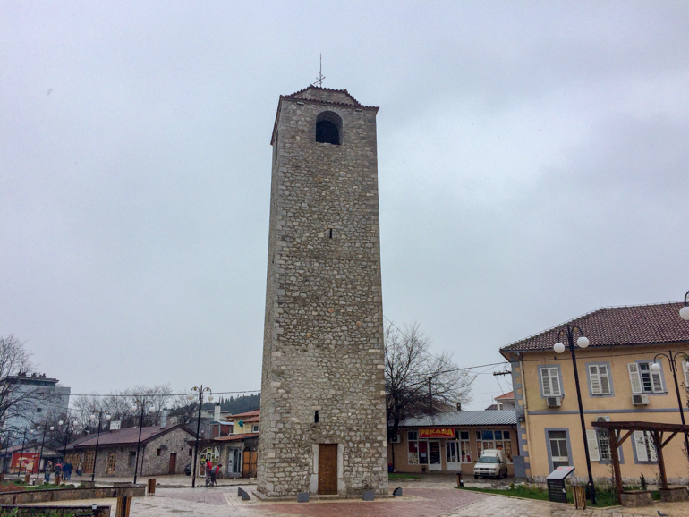 stone tower in podgorica things to do
