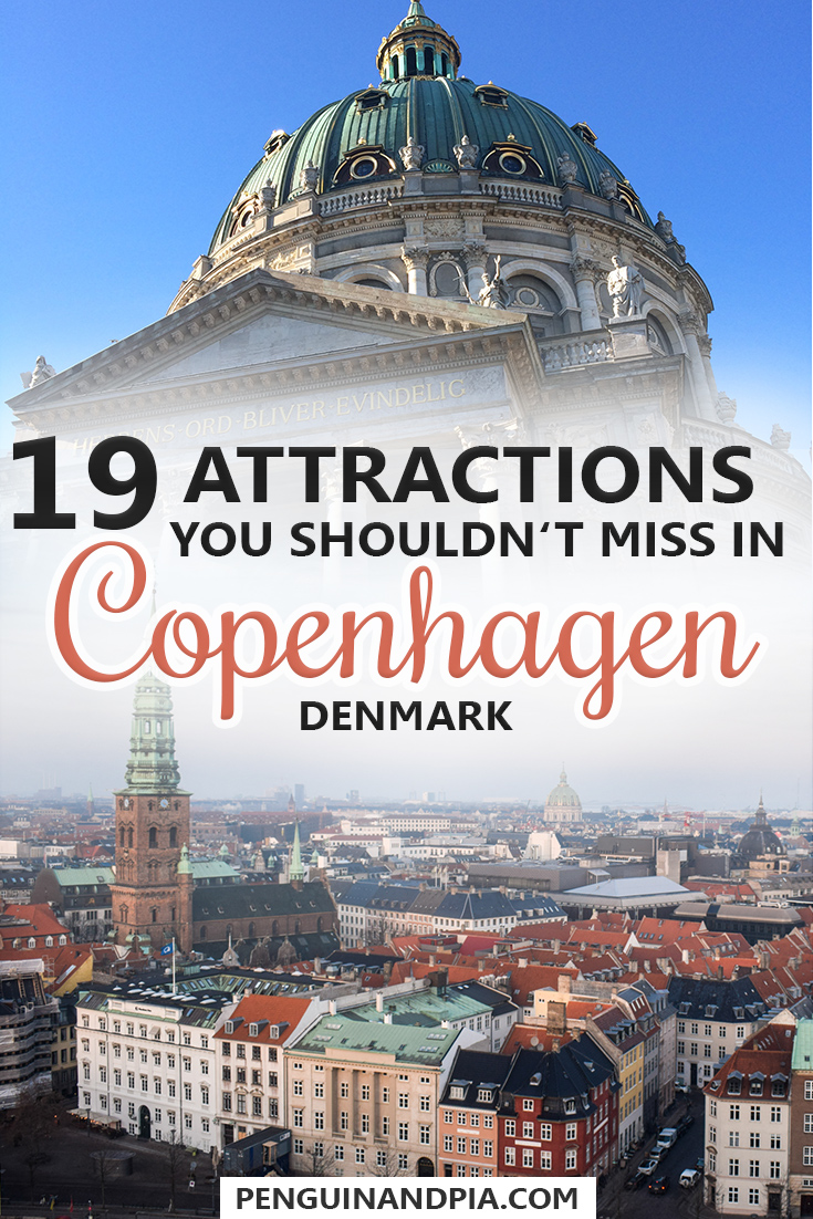 19 Attractions You Shouldn't Miss in Copenhagen Denmark