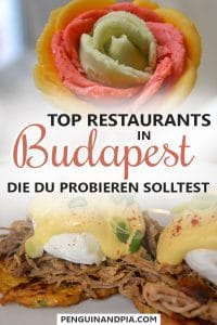 Top Restaurants in Budapest Ungarn