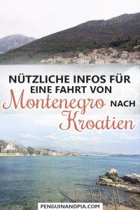 Nützliche Infos für eine Fahrt von Montenegro nach Kroatien