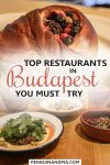 Top Restaurants in Budapest Hungary