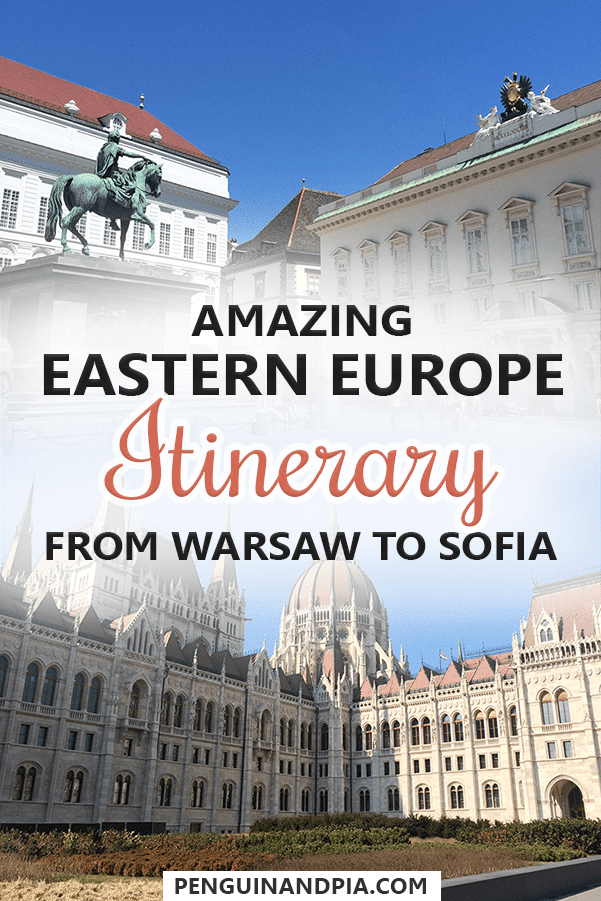 Amazing Eastern Europe Itinerary from Warsaw to Sofia