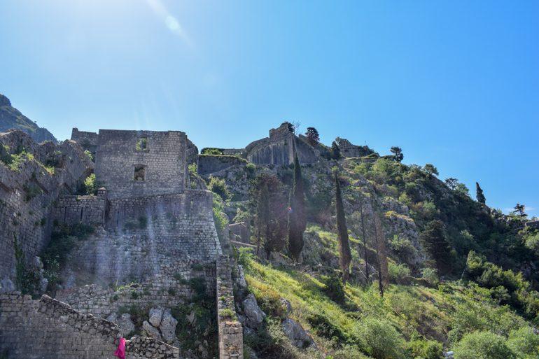 Festung San Giovanni in Kotor Sehenswürdigkeiten