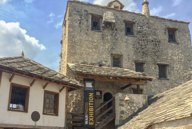 old town building with museum sign things to do in mostar