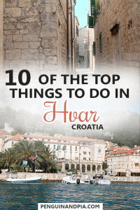 10 Top Things to Do in Hvar Croatia