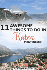 Awesome Things to Do in Kotor, Montenegro