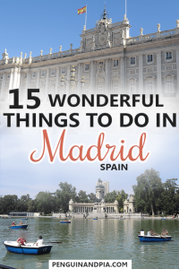 Wonderful Things to Do in Madrid,Spain