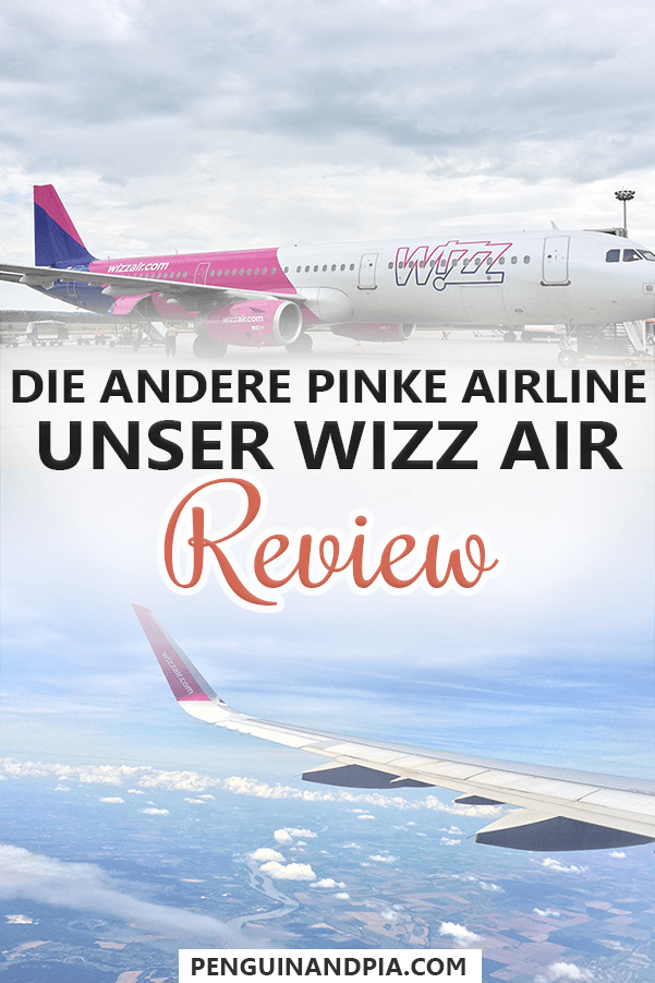 Die andere pinke Airline: Wizz Air Review