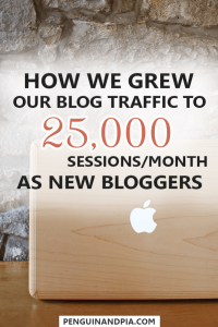 How We Grew Our Blog Traffic to 25,000 Sessions/Month