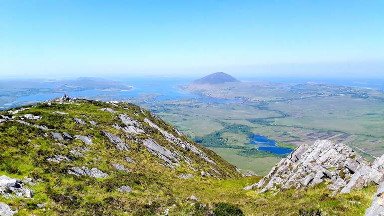 national park with green hills and rocky cliffs ireland travel tips
