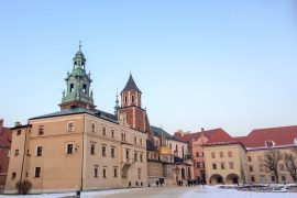 colourful wawel castle in winter 3 days in krakow