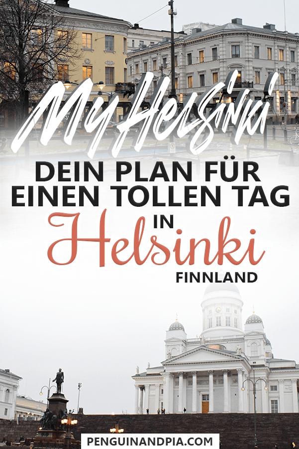 Ein Tag in Helsinki, Finnland