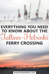 Everything you need to know about the Tallinn-Helsinki Ferry
