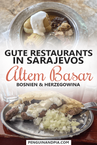 Gute Restaurants in Sarajevos Altem Basar