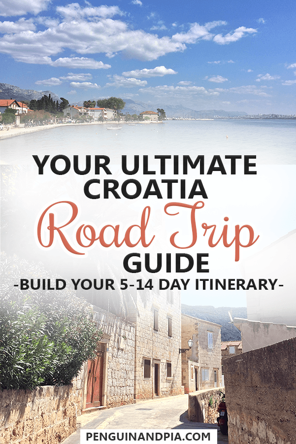 Your ultimate Croatia Road Trip Guide