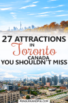 Tourist Attractions in Toronto Canada
