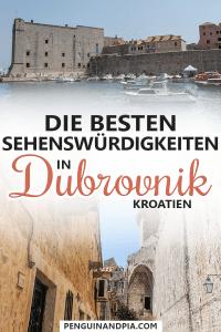 Sehenswürdigkeiten in Dubrovnik Kroatien