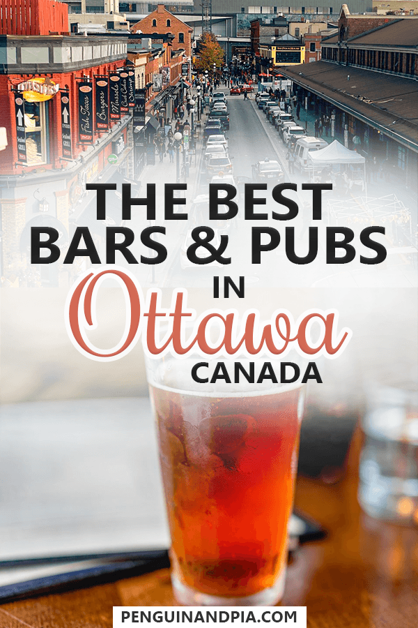 The Best Ottawa Pubs and Bars