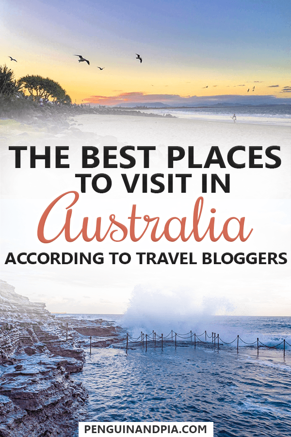 The best Places to Visit in Australia