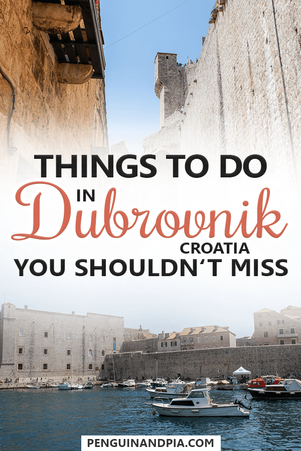 Things to do in Dubrovnik Croatia