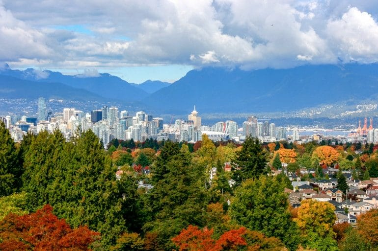 autumn leaves and tall buildings best places to stay in vancouver