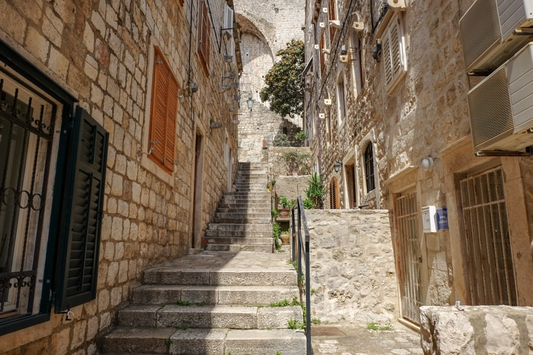 stairs and stone buildings things to do in dubrovnik croatia