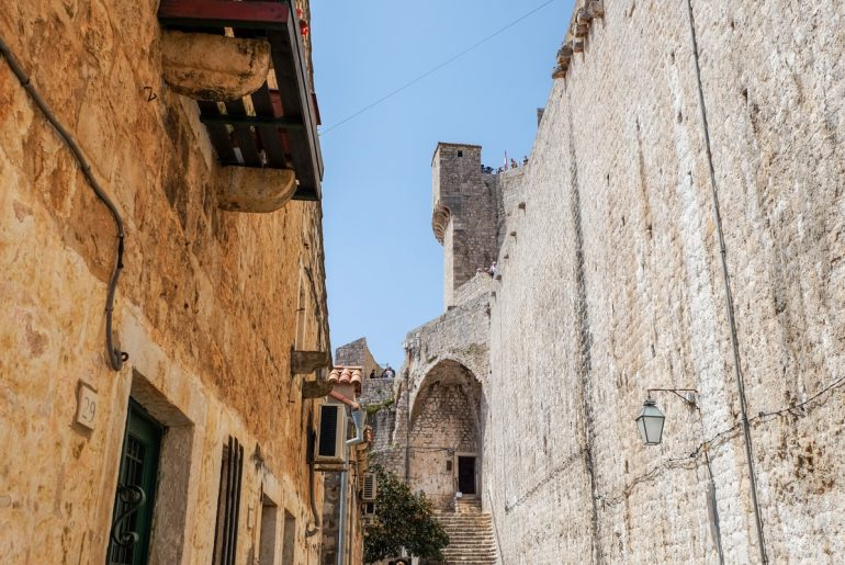 sandstone walls and tower things to do in dubrovnik croatia