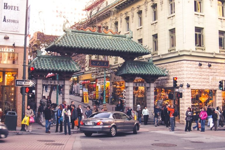 chinatown entrance top 10 things to do in san francisco