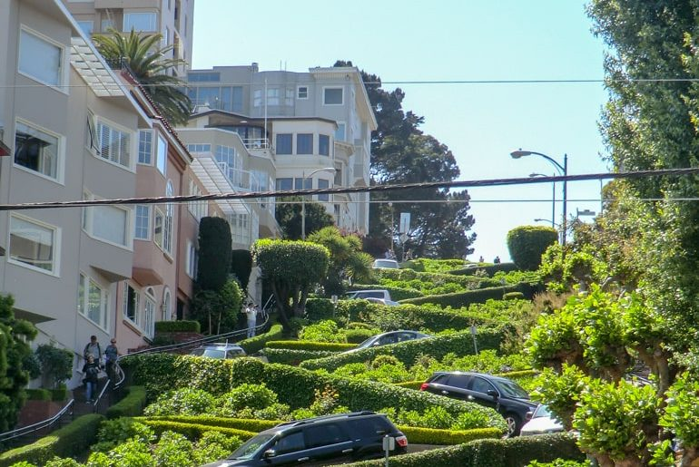 green curvy street top 10 things to do in san francisco