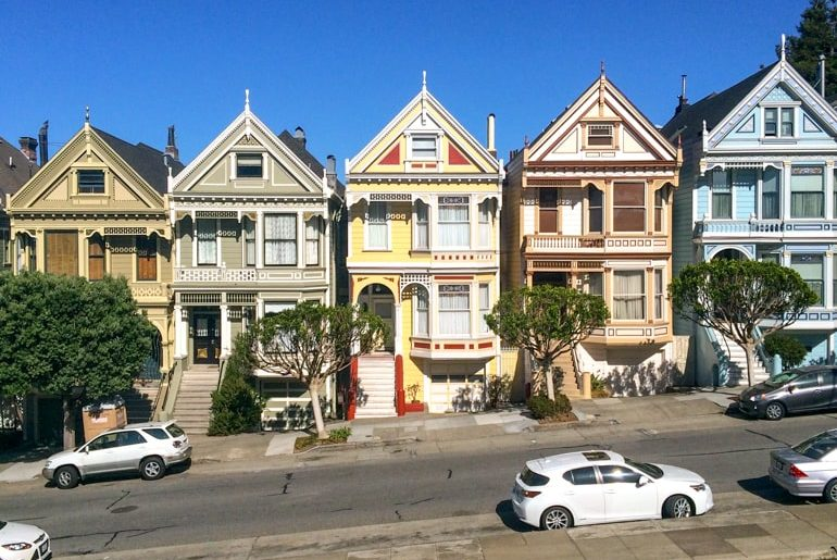 olourful houses in a row top 10 things to do in san francisco