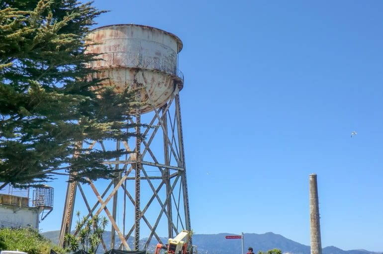water tower on alcatraz island top 10 things to do in san francisco