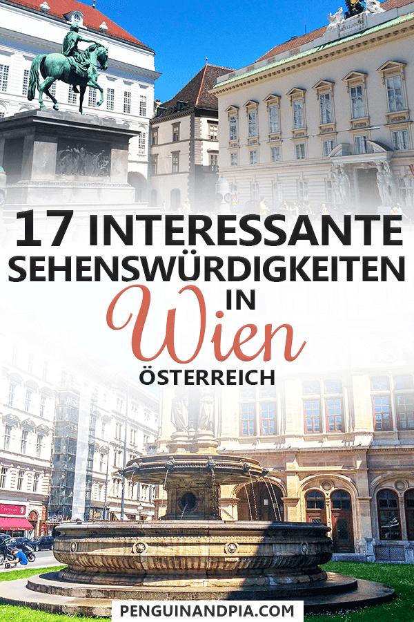 Sehenswürdigkeiten in Wien