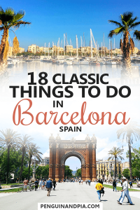 Classic Things to do in Barcelona