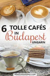 Tolle Cafés in Budapest, Ungarn