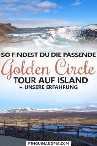 Golden Circle Tour auf Island