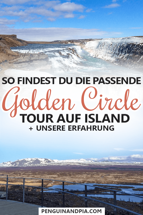 Golden Circle Tour auf Island